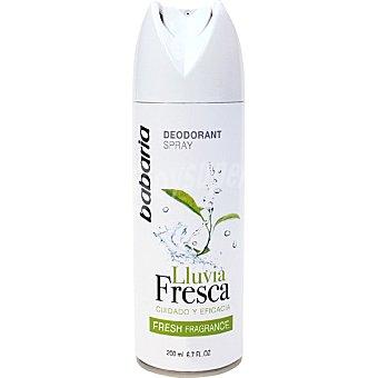 Babaria Desodorante Lluvia Fresca Spray 200 ml