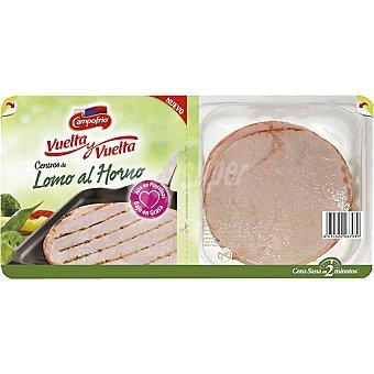 Campofrío Centros de lomo adobado de cerdo al horno envase 300 g 4 unidades