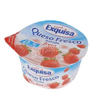 Exquisa Queso fresco batido fresa tarrina 150 g