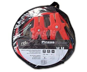 RDM Pinzas de arranque para baterías de coche de 12V que no excedan de 250A por hora, 3,5m x 19mm² 2 unidades