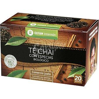 INTERMON OXFAM Té Chai con especias biológico cesta Comercio Justo  Envase de 78 g