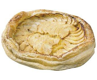 Pasteleria Tarta de masa de hojaldre con relleno de manzana, 500 gramos