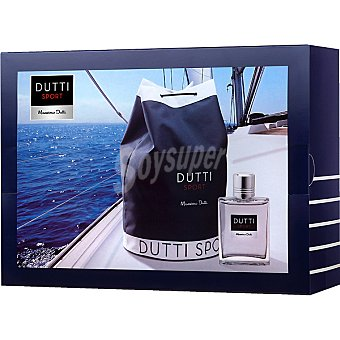 Massimo Dutti Dutti Sport eau de toilette masculina spray 100 ml + petate Spray 100 ml
