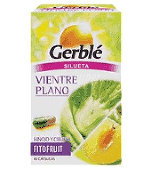 Gerble Cápsulas vientre plano fitofruit 60 ud de 21,3 gr