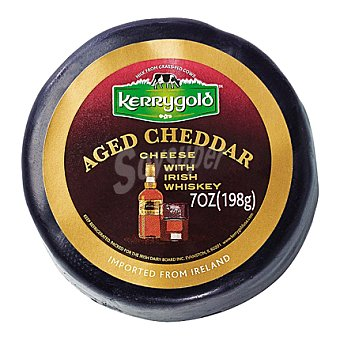 Kerrygold Queso cheddar whiskey 198 g