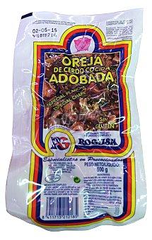 Rogusa Cerdo oreja precocinada fresco Paquete de 500 g