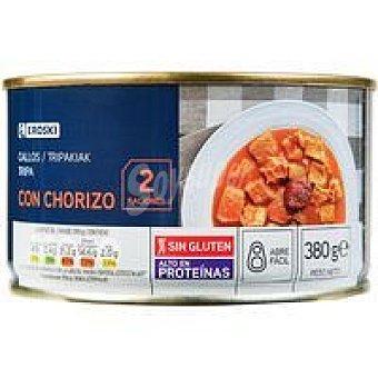 Eroski Callos con chorizo Lata 390 g
