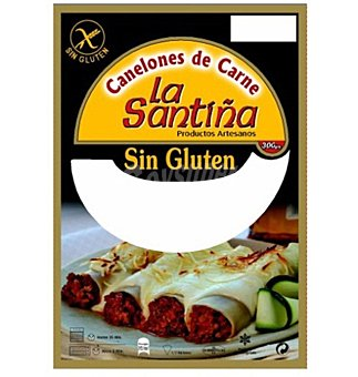 La Santiña Canelones carne - Sin Gluten 300 g