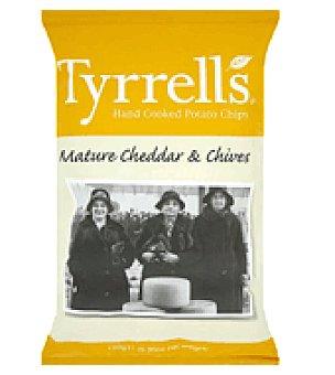 Tyrrells Patatas fritas con cheddar 150 g