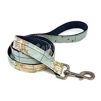 Biozoo Axis Correa de nylon para perros modelo mapa talla S medidas 1,5 cm x 1 M 1 unidad