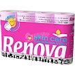 Papel higienico perfumado 3 capas rosa paquete 12 rollos Paquete 12 rollos Renova