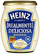 Mayonesa con huevo de gallinas camperas frasco 480 ml Heinz