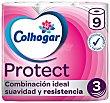 Papel higiénico protect Envase 9 rollos Colhogar