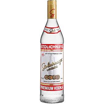 Stolichnya Vodka ruso Botella 70 cl