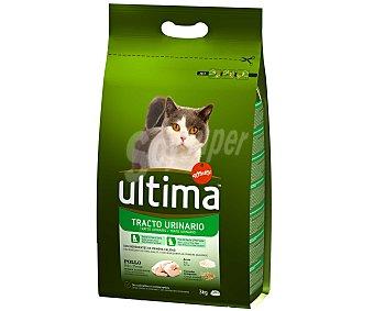 Ultima Affinity Comida completa para gatos control tracto urinario 3 kilogramos