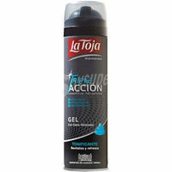 LA TOJA Gel de afeitar triple acción spray 200 ml