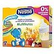 Papilla líquida con leche y cereales multifrutas a partir 6 meses Pack 2 x 250 cc  Nestlé