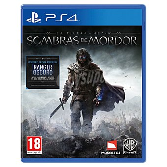 PS4 Videojuego La Tierra Media: Sombras de Mordor para PS4 1 Unidad