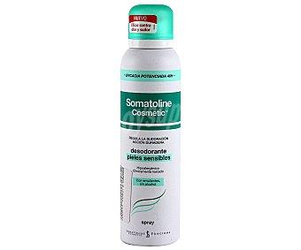 Somatoline Cosmetic Desodorante Spray pieles sensibles 150 Mililitros