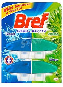 Bref WC Limpiador WC Perfume Natura Duo Activo 2 uds