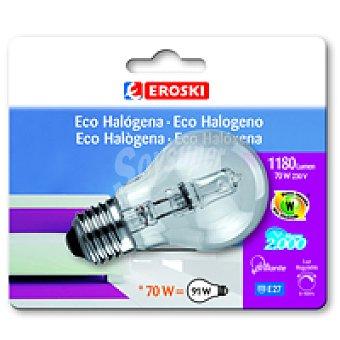 Eroski Eco Halo Standar 70w E27 Bl1
