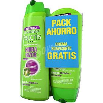 Fructis Garnier champú fortificante Hidra Rizos  pack 2 frasco 300 ml