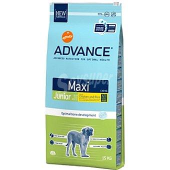 Advance Affinity Alimento de alta gama para cachorros de raza grande con pollo y arroz Maxi Junior Bolsa 15 kg