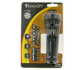 DAYRON Linterna Galaxy 17 leds (pilas no incluidas) 1 Unidad