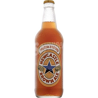 NEWCASTLE BROWN ALE Cerveza tostada inglesa  Botella de 55 cl