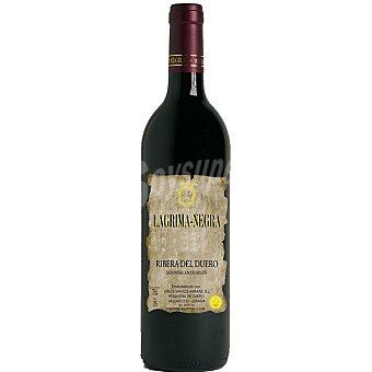 LAGRIMA NEGRA Vino tinto crianza D.O. Ribera del Duero botella 75 cl 75 cl