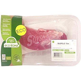 ECOROMA Solomillo fresco de cerdo ecologico peso aproximado bandeja 450 g 1 unidad