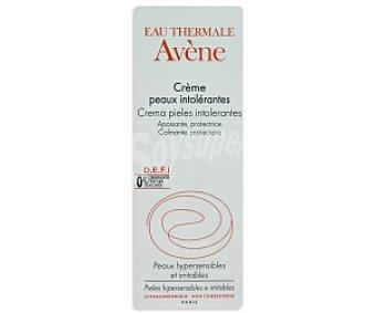 Avène Crema calmante y protectora para pieles intolerantes, 50 Mililitros