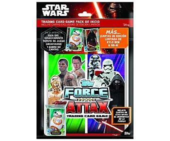 Star Wars Disney Pack de inicio de cartas coleccionables 1 unidad