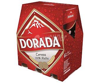 Dorada Cerveza Pack de 6 botellas