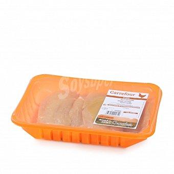 Carrefour Pechuga de Pollo Certificado Fileteado 500 g aprox Bandeja de 500.0 g. aprox