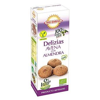 Bio-darma Galletas con avena y almendra ecológicas Bio Darma sin lactosa 110 g