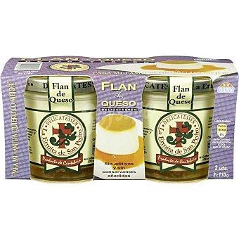 La Ermita Flan de queso Pack 2x110 g