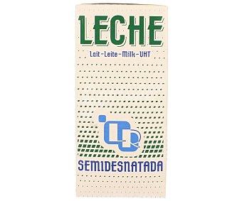 L.R. Leche Semidesnatada Brik de 1 Litro
