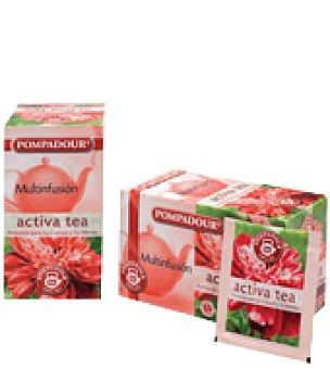 Pompadour Activa tea Pompadour  Bolsitas 20 ud