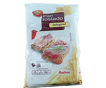 Auchan Pan Tostado Integral 270 gramos
