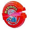 Maxi Roll Fun de fresa Paquete 56 g Boomer