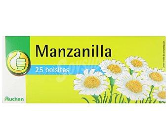 Productos Económicos Alcampo Manzanilla 25 uds