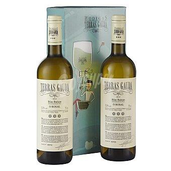 """Terras Gauda Estuche de vino D.O. """"rías Baixas"""" albariño Pack 2x75 cl"""