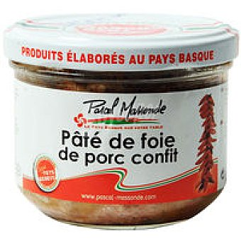 MASSONDE Paté de higado de cerdo confitado Tarro 180 g