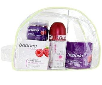 BABARIA Neceser : crema corporal, desodorante roll-on, crema facial ) 1 Unidad