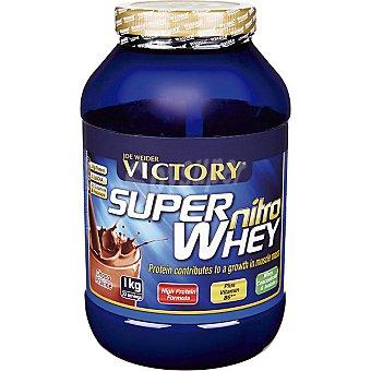 VICTORY Super Nitro Whey Sabor chocolate y avellana Envase 1 kg