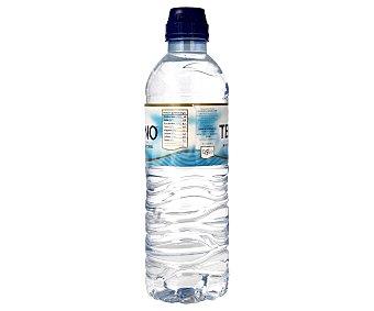 Teleno Agua mineral natural Botella de 50 centilitros