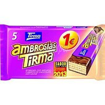 Tirma Ambrosias de chocolate con leche Caja 129 g