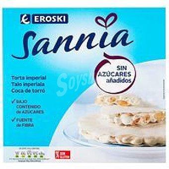 Eroski Sannia Torta imperial sin azúcar Caja 200 g