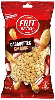 Frit Ravich Cacahuetes repelados con sal Bolsa 200 g